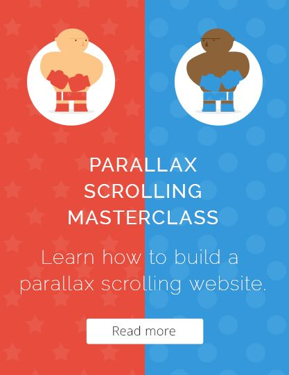 Parallax Scrolling Master Class - Now Available!