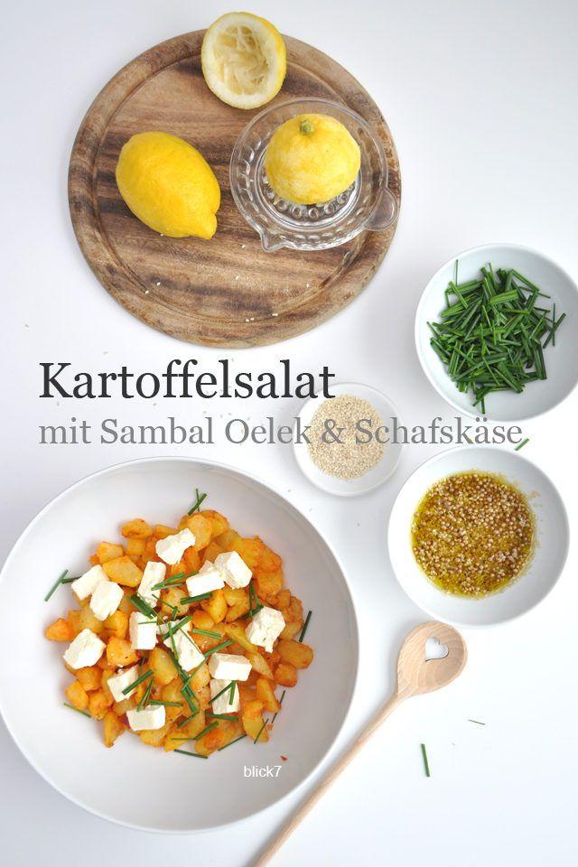 Kartoffelsalat mit Sambal Oelek und Schafskäse | Blick7