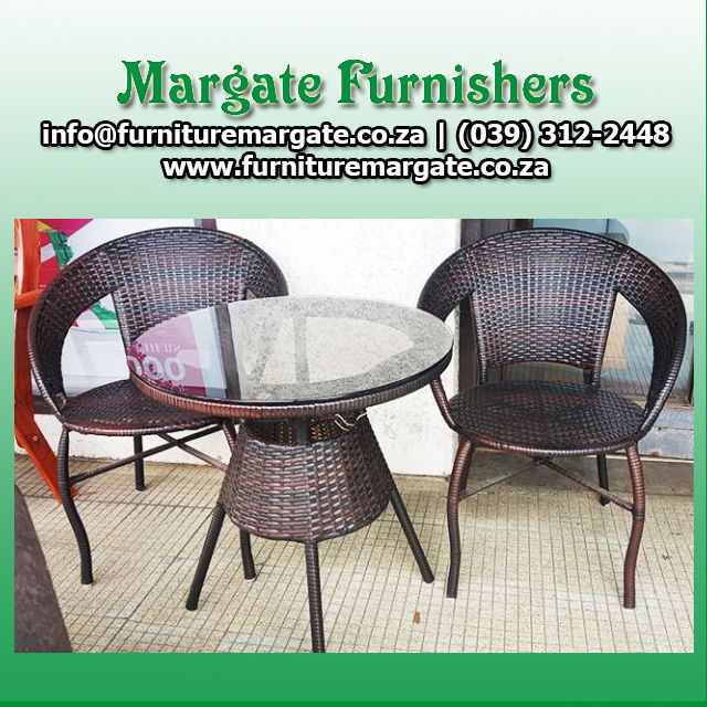 Stunning patio set: Combination of glass & wood #HomeDecor #Design #Furniture ORDER TODAY http://bit.ly/1U6DTp0