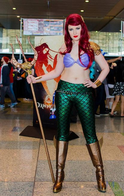 Princess Ariel Dons her Battle Garb in Amazing Cosplay Website | Submit