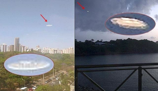 Similar Oval-Shaped UFOs appear over Brazil and St Lucia just a coincidence?  UFO Sightings Hotspot