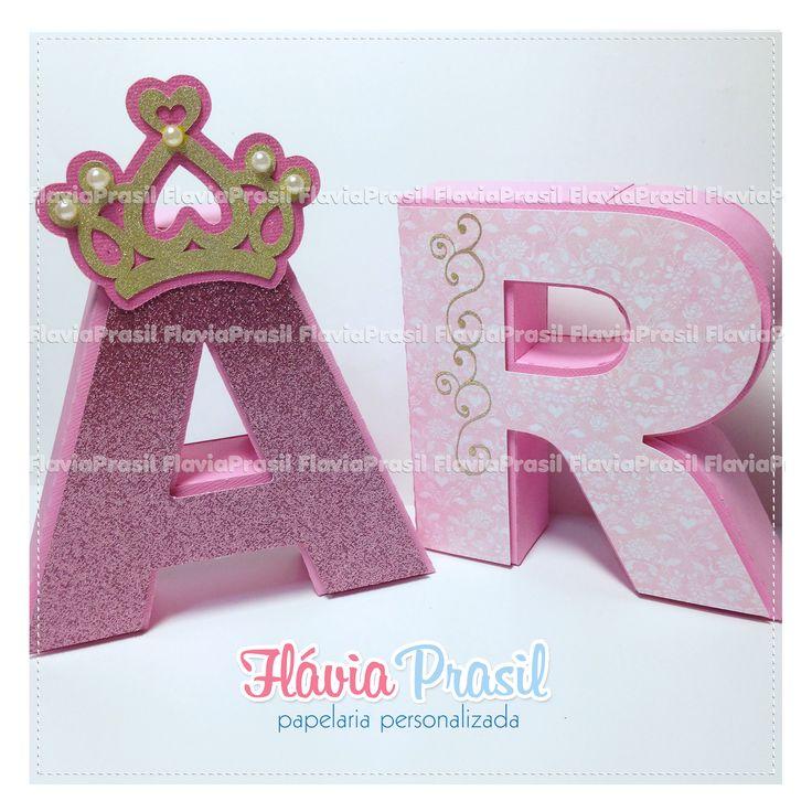 Letras 3d Princesa