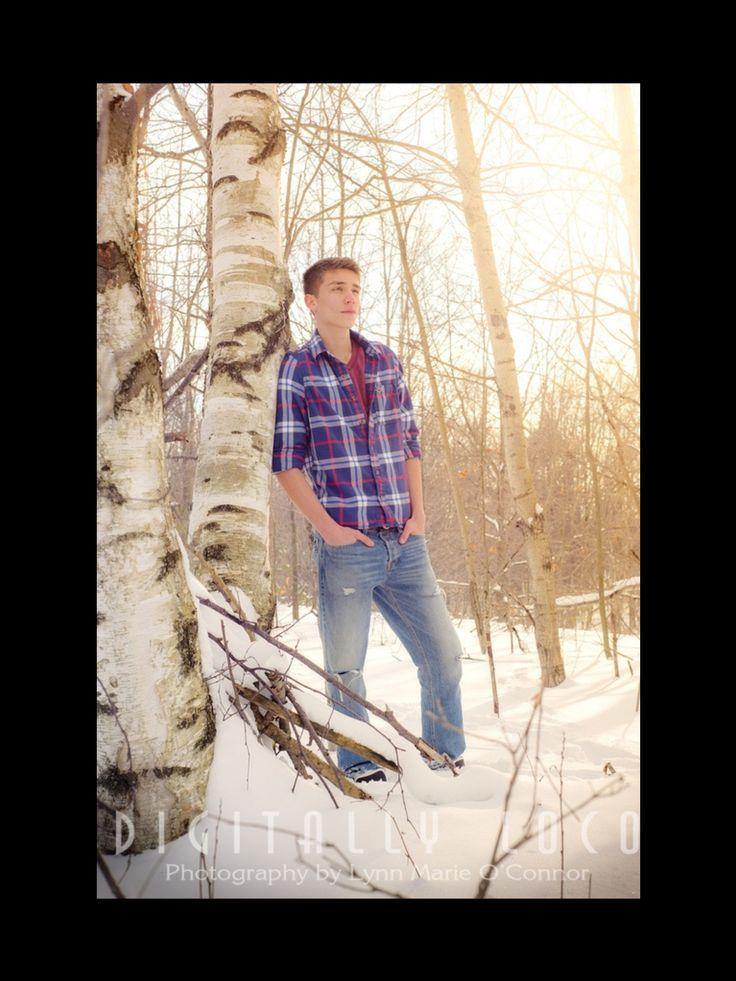 Photography - Winter Outside Sessions - Senior - Digitally LOCO - Bear Lake, Michigan - www.digitallyloco.com