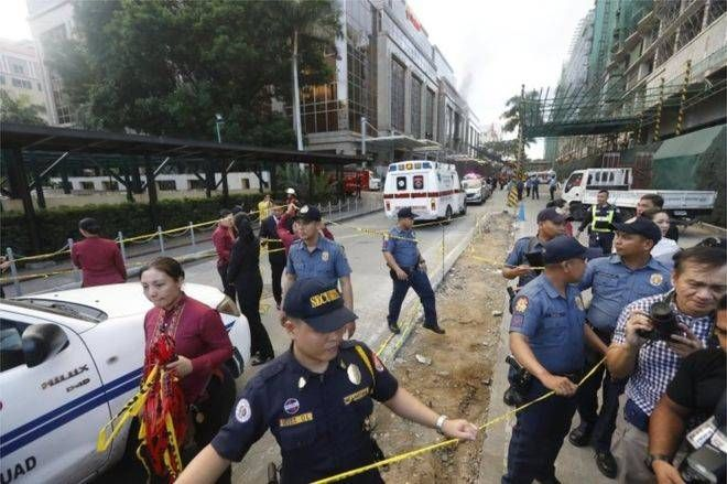 At least 36 bodies found at casino complex