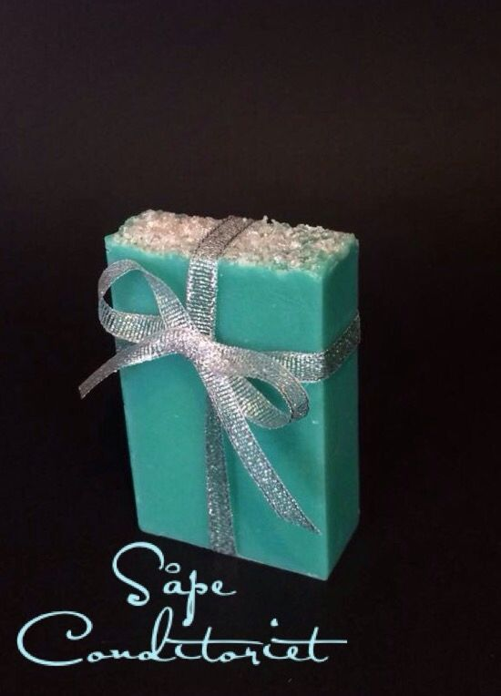 Tiffany soap. Handcrafted by Såpe Conditoriet, Norway
