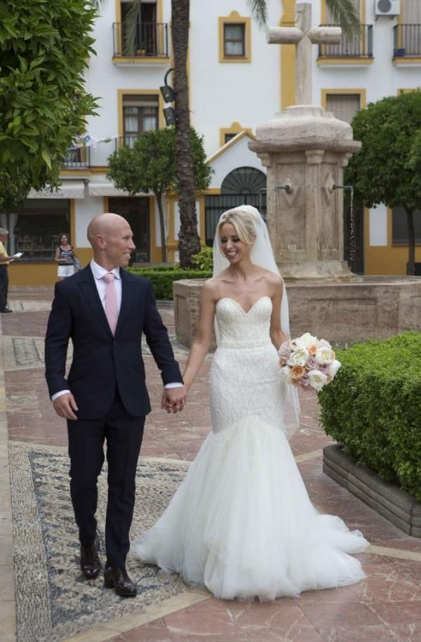 Rugby Star Peter Stringer Gives Bride A Wedding Worth Waiting For Mariage