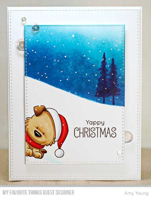 Handmade card from Amy Young featuring products from My Favorite Things #mftstamps