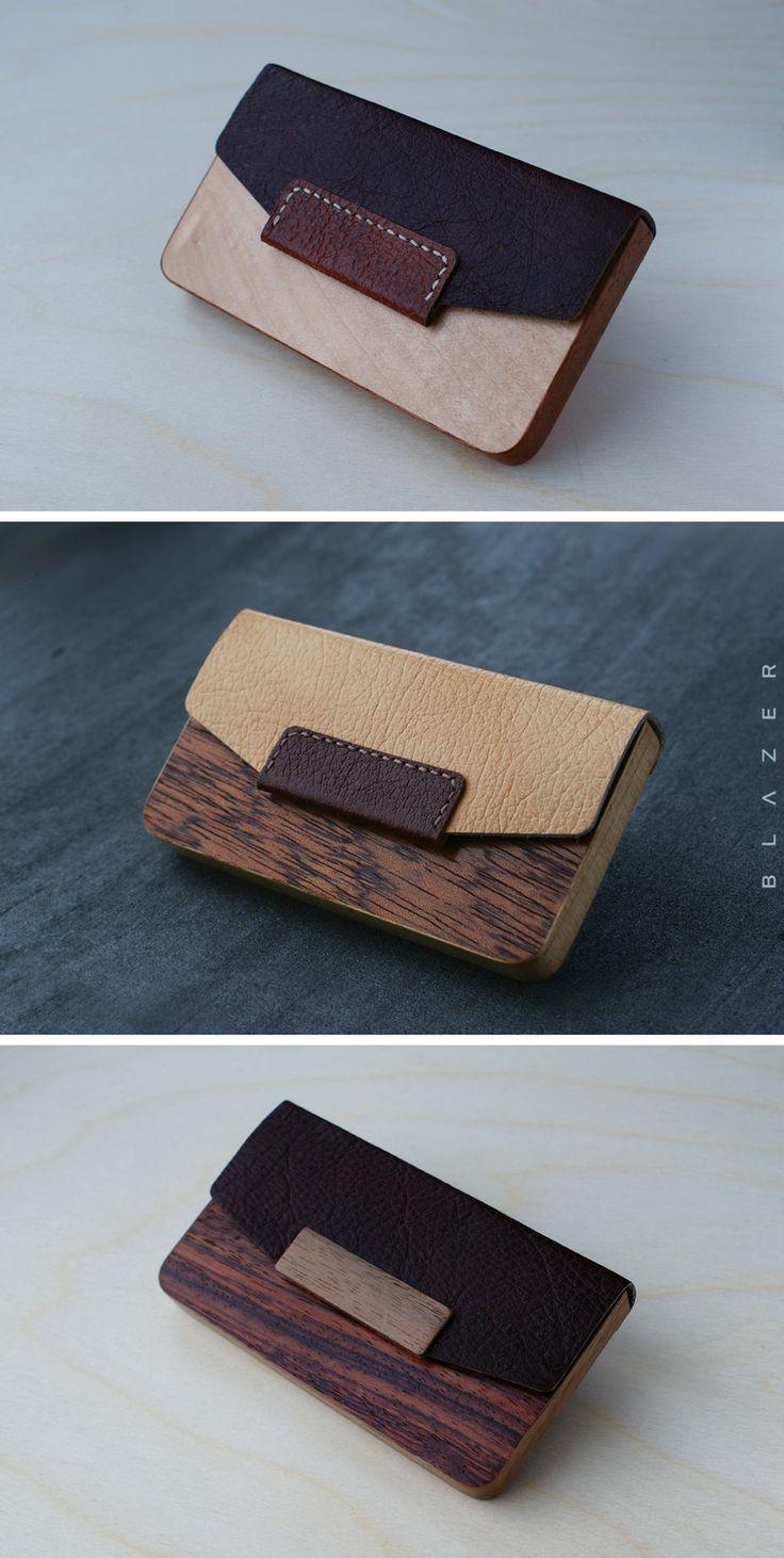 Blazer Luxury Visitenkartenhalter Aus Holz Für 15 20