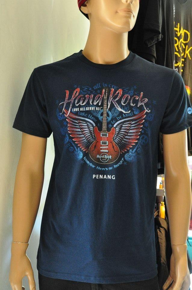 Hard Rock Cafe Merchandise Sales