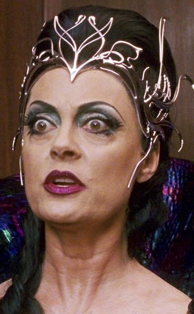 horror makeups | witches & evil stepmothers | Susan Sarandon in 'Enchanted' |