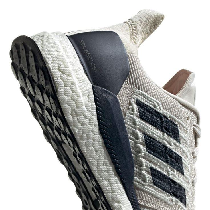 Buty Adidas Solar Boost M D97435 Biale Ecru Shoes Running Shoes Adidas