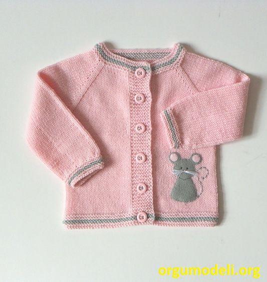 Bebek Yelek Örgü Modelleri - 7