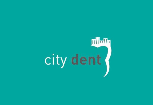 Dental clinic logo by enis abdullahu, via Behance