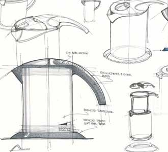 Technical drawings for product design