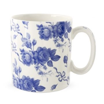 Spode Blue Room Mug Chintz Corsage