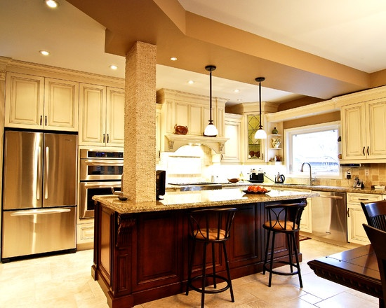 how to modernize kitchen cabinets 17 best ideas about kitchen columns on exposed 7288