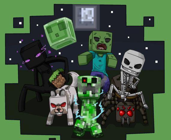 9 best images about Minecraft Mobs! on Pinterest | Minecraft mobs ...