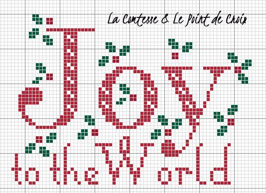 La Comtesse & Le Point De Croix: E' già Natale!