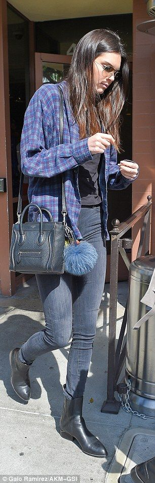 Ladies that lunch:A heavily pregnant Kourtney Kadashian headed out to lunch with her daughter Penelope and younger sister Kendall Jenner in Beverly Hills, California, on Tuesday