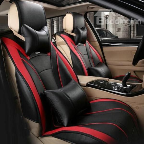 Super High Cost Effective And Strong Design PU Leather Car Seat Cover