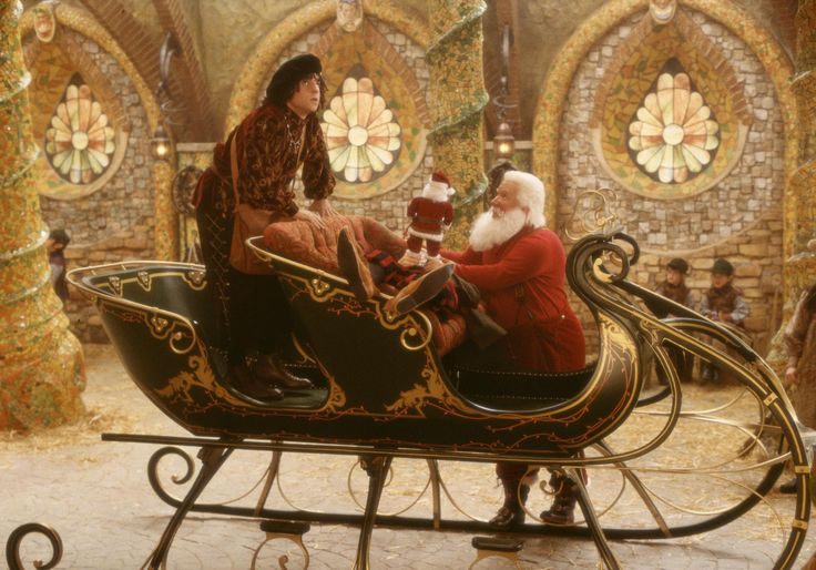 Still of Tim Allen and David Krumholtz in The Santa Clause 2 (2002) http://www.movpins.com/dHQwMzA0NjY5/the-santa-clause-2-(2002)/still-1184804864