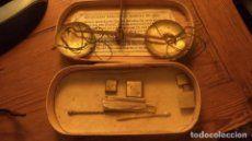 Magnifica balanza de pesar oro pieza de coleccionista completa