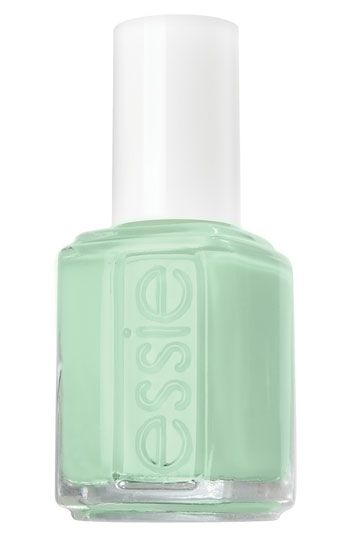 Showcase one of summer's most popular colors on your fingers and toes with Essie Nail Polish in Mint Candy Apple.