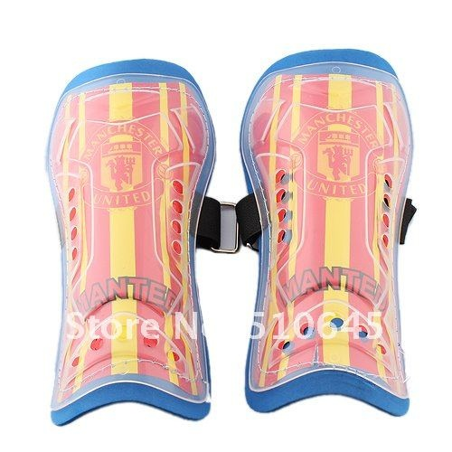 Wholesale Product Snapshot Product name is Man Utd Soccer/Football Shin Guard for Kids (Pair)-54180