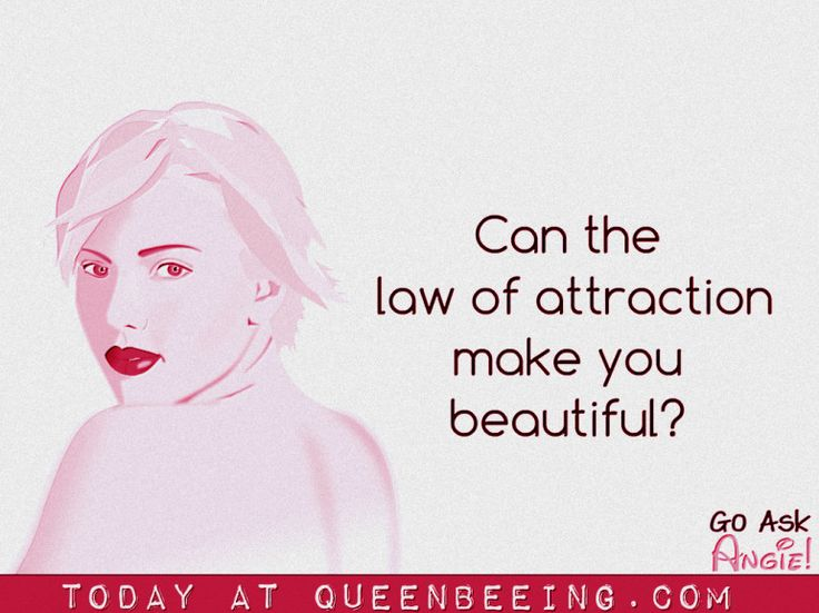 Using the Law of Attraction for Beauty: Your Ultimate Guide http://queenbeeing.com/using-law-attraction-beauty-ultimate-guide/ via @queenbeeings