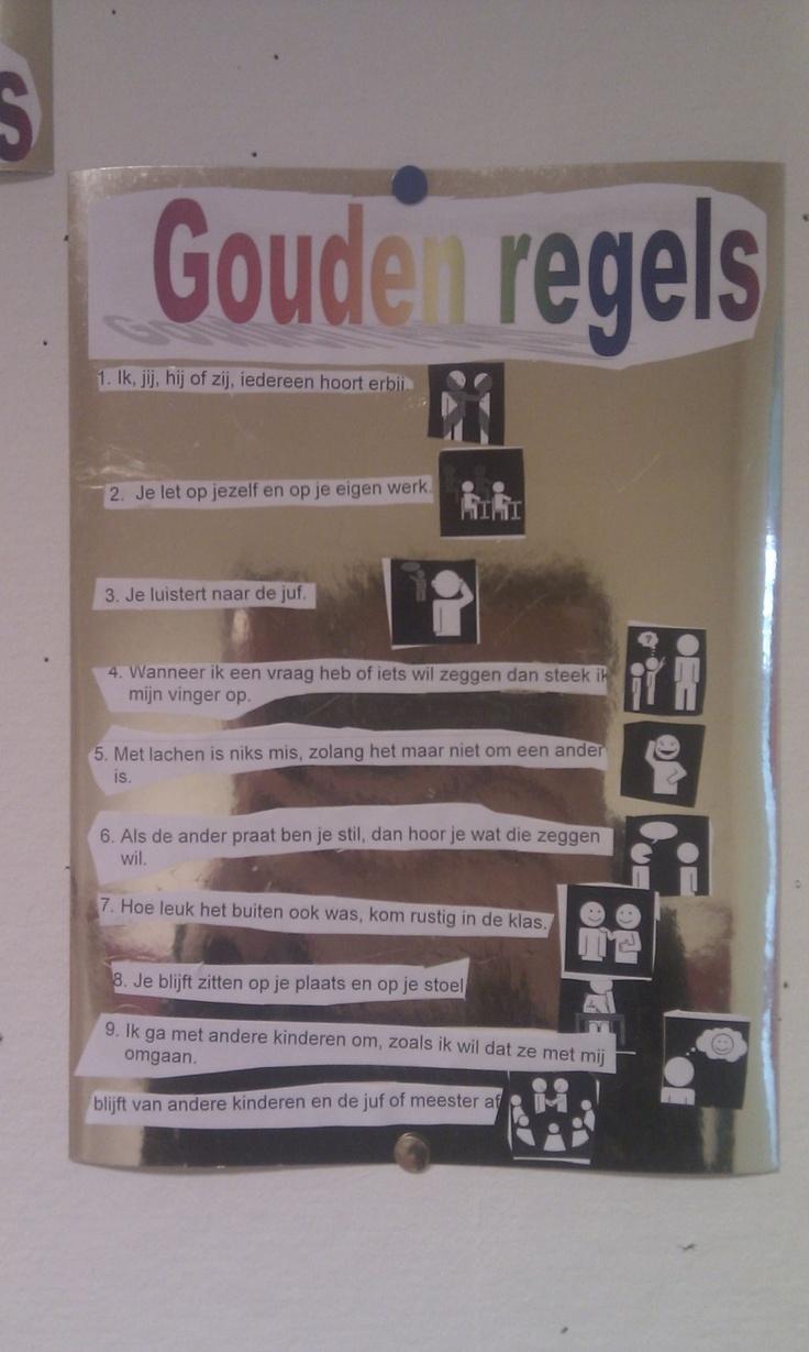de gouden regels