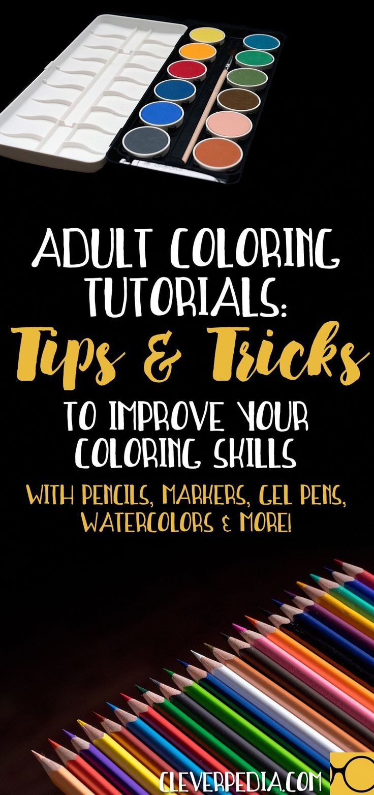 Coloring book for notability - Adult Coloring Tutorials Tips Techniques To Improve Your Coloring Skills