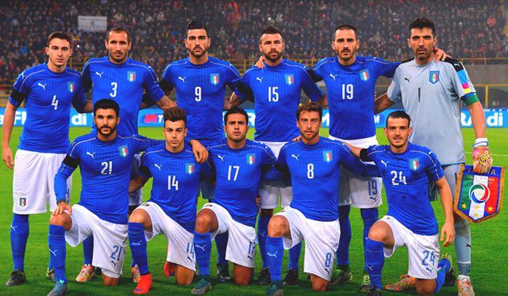 La selección de fútbol de Italia en Eurocopa de Francia 2016