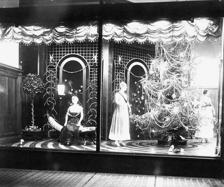 Christmas window display, Hudson's Bay Company Store Vancouver, British Columbia, 1916 Photographer: unknown PA-122005