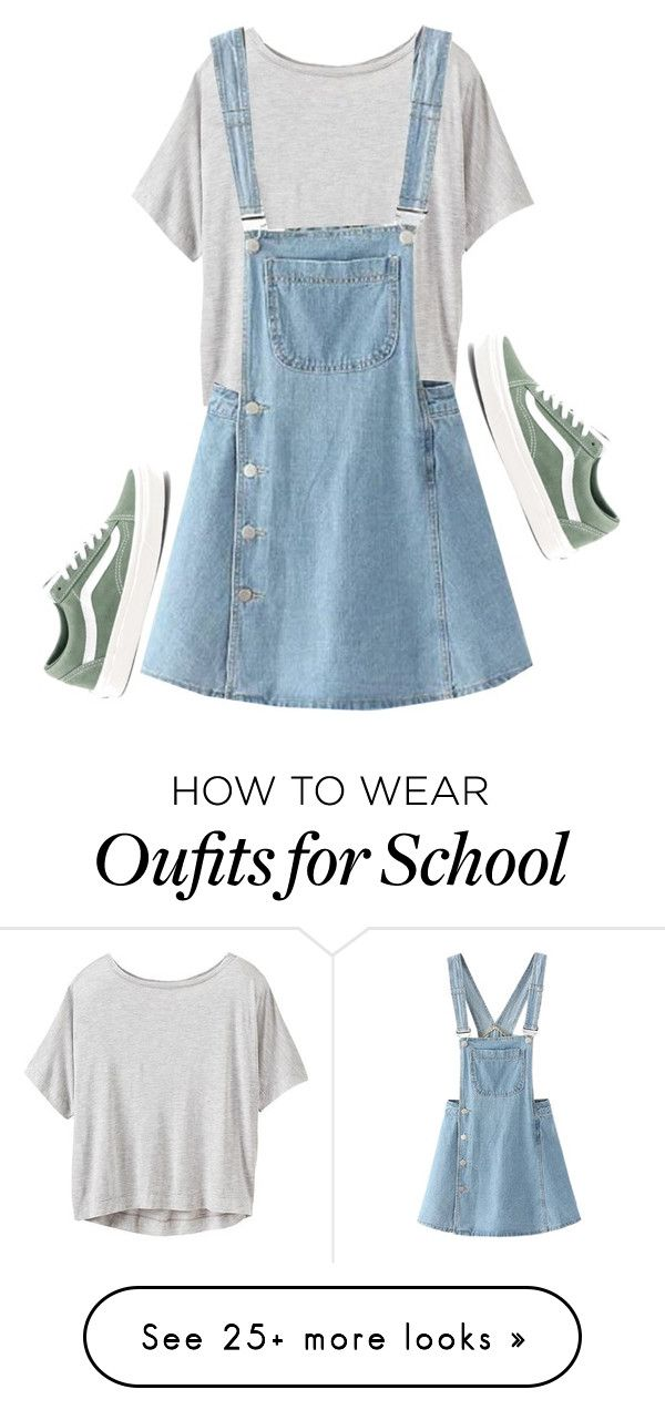 """""""School Series '17 #5"""" by alyroxmaxxx on Polyvore featuring Athleta, WithChic, Vans and BackToSchool"""