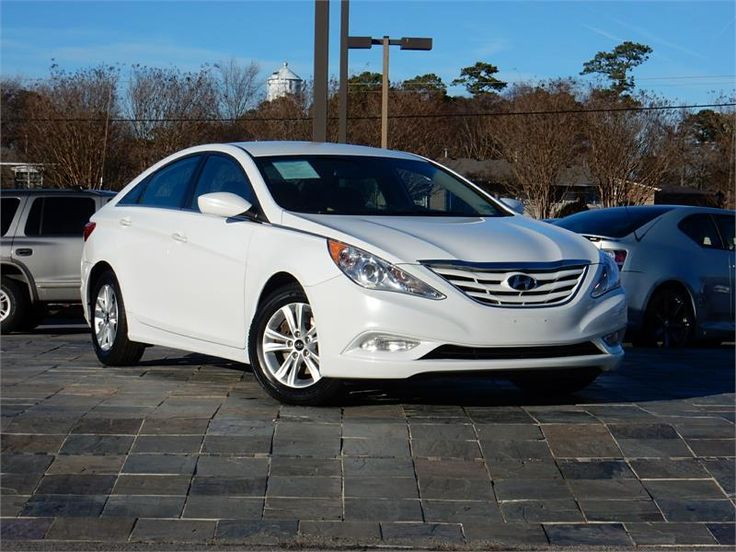 2013 HYUNDAI SONATA GLS for sale in Virginia Beach  62753 miles, White exterior color, 2.4L I4    F DOHC 16V Engine, Automatic Transmission, Stock # 1548