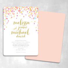 Jeweled Love Wedding Invitations