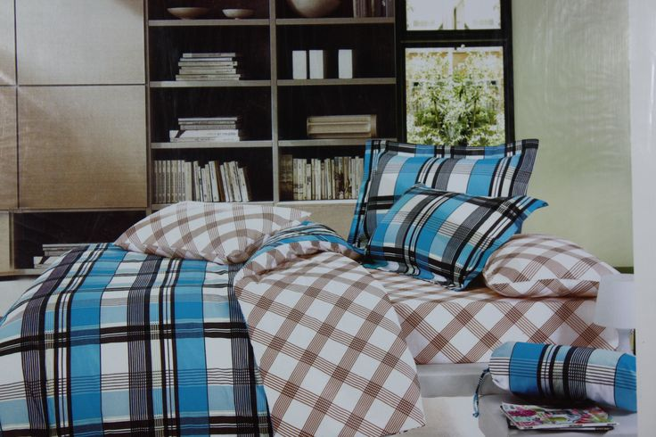 Truly inspired by rich combination of colors and checks,, this King Size(275*275 cm) Bed Linen set will add just the right amount of pattern and interest to your bedroom. This Bed Linen Set is great for use in any season and is absolutely skin friendly. Made of Fine Quality Cotton Fabric makes it easy to wash and dry at home for regular maintenance.