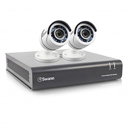 From 189.99:Swann Swdvk-445502-uk 4-channel Security System And 2 Cameras With 1tb 1080p Night Vision Cctv Kit - White | Shopods.com