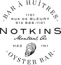 Homepage - Notkins - Oyster Bar