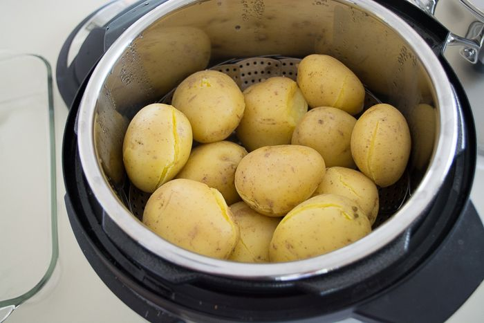 Pressure Cooking: Steamed Potatoes | Feed Your Skull
