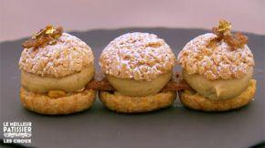 Le Paris-Brest revisité de Cyril Lignac une recette de Le meilleur pâtissier l'émission sur M6