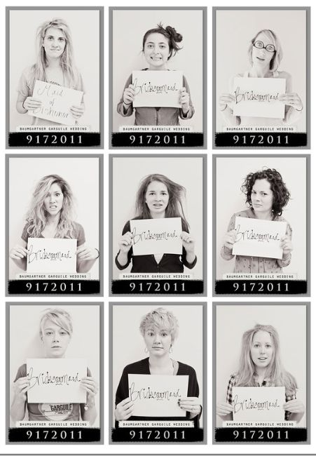 Bridesmaid Mugshots from the morning after the hen do! @Nicolle Miller Jermaine