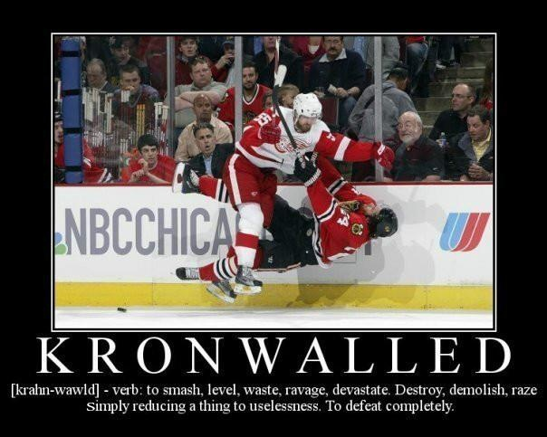 kronwall is a beast <3 detroit red wings #55