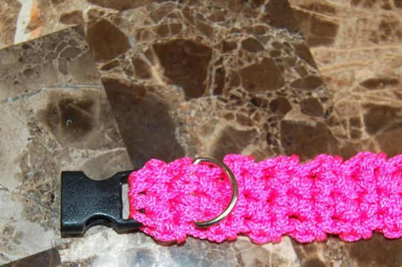 crochet for dogs | ... Designs Dog Clothes: Cord Dog Collar and Leash Free Crochet Pattern