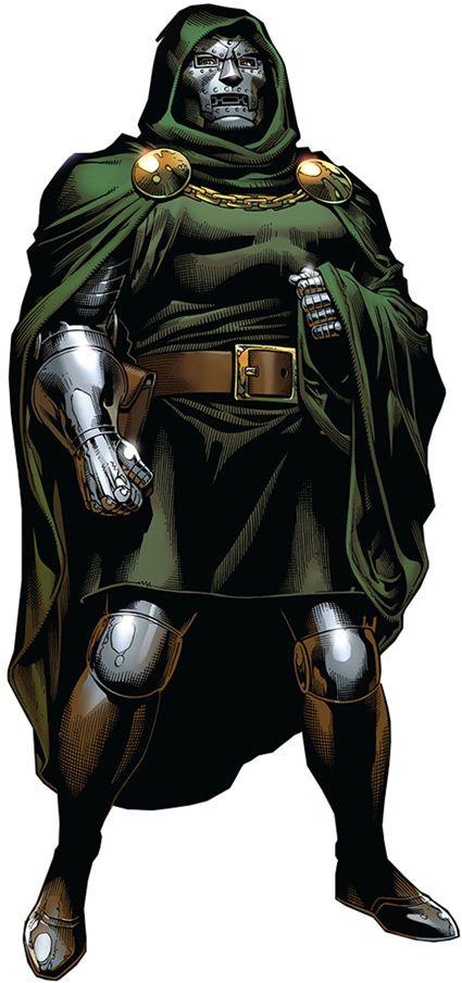 Doctor Doom - Marvel Comics - Fantastic Four enemy