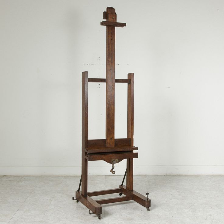 Floor Easel with Double Crank