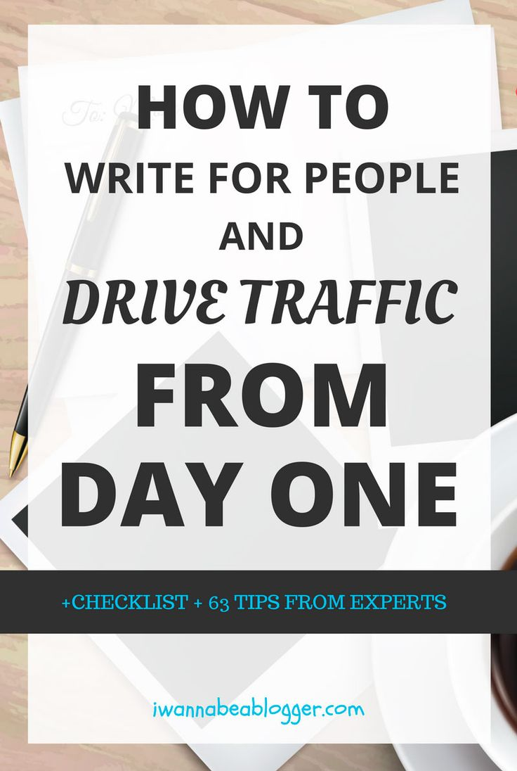Effective tips for writing your first blog post that drive traffic from day one via @michaelpozdnev