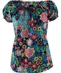 Peaches Spring Elements Top