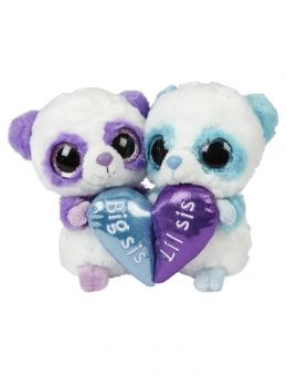 Big Sis Lil Sis Panda 6 Inch Plush Set