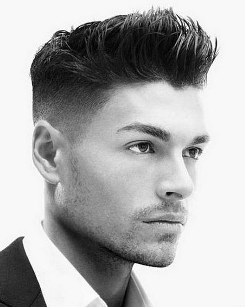 The Modern and Edgy Undercut American Crew Mens Hairstyles 2014 with Heavy Accent on Top - Mens Hairstyles